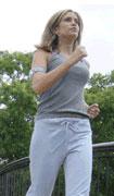 armband durante l'attività fisica