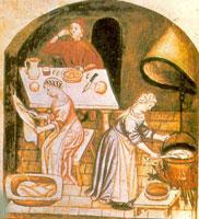La cucina nel medioevo