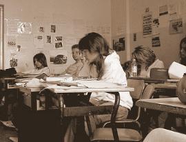 In classe