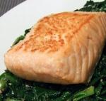 Salmone e spinaci