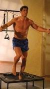 esercizi con il trampolino elastico