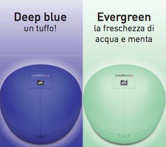 wellbox blue green