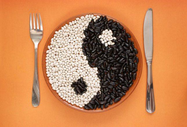 Dieta macrobiotica Yin e Yang