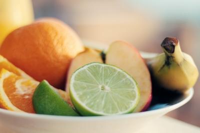 frutta in grandi quantità