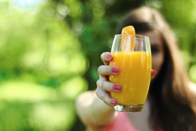 succo d'arancia contiene antiossidanti