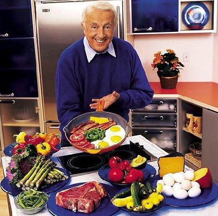 Robert C. Atkins ideatore della dieta Atkins