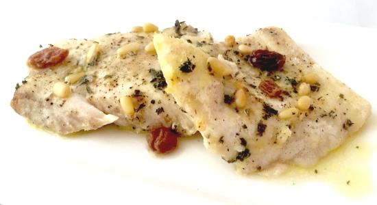 Pesce persico ricetta light