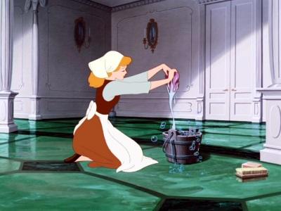 bruciare calorie lavando i pavimenti