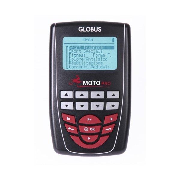 Elettrostimolatore Globus Moto Pro + 1 Gel E 8 Elettrodi In Omaggio