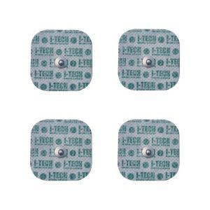 I-Tech 4 Elettrodi 48 X 48 Mm Attacco A Bottone