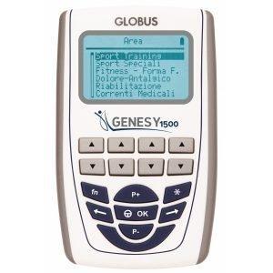 Elettrostimolatore Globus Genesy 1500 + 1 Gel E 8 Elettrodi In Omaggi