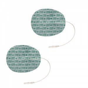 I-Tech 2 Elettrodi Ovali 130 X 76 Mm Attacco A Spinotto