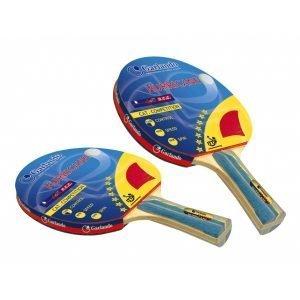 Garlando Coppia Racchette Ping Pong Hurricane