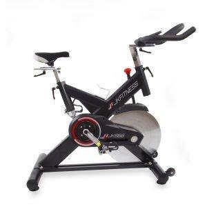 Gym Bike Jk Fitness Jk566 Scatto Fisso E Trasmissione A Cinghia Con F