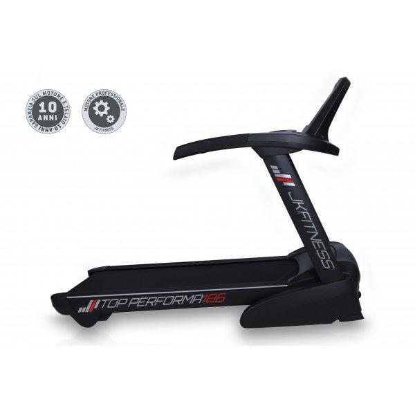 Tapis Roulant A Corrente Alternata Jk Fitness Top Performa 186 Con Fa