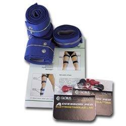 Globus Kit 8 Fasce Elastiche Conduttive Per Cosce E Gambe Ricambi Ele
